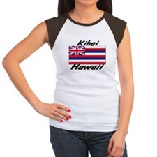 Kihei Hawaii Women's Cap Sleeve T-Shirt