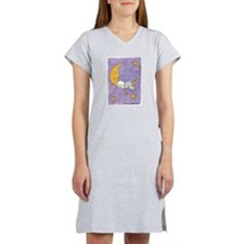 Cute Lhasa apso Women's Nightshirt