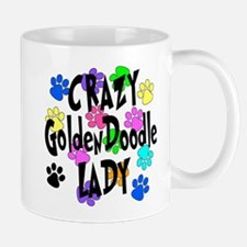 Crazy Goldenddoodle Lady Mug