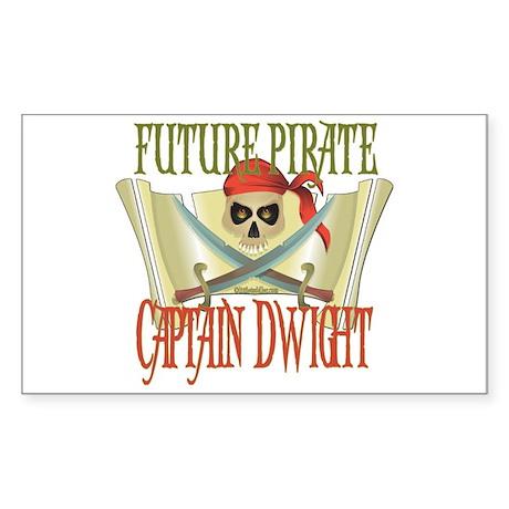 Future Pirates Rectangle Sticker