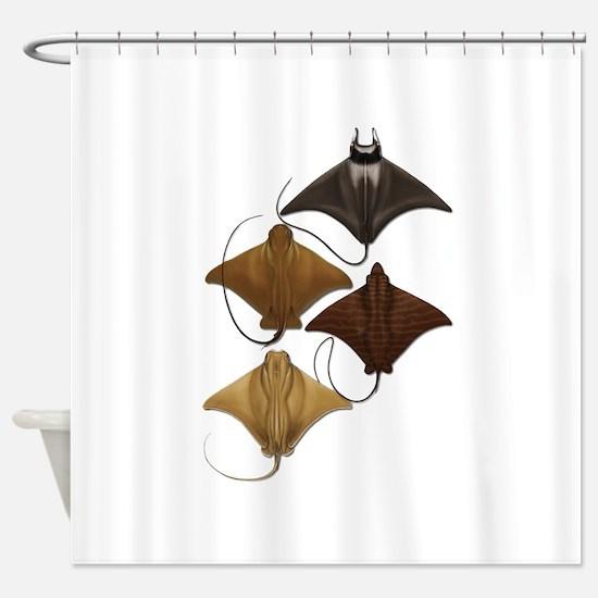 RAYS Shower Curtain