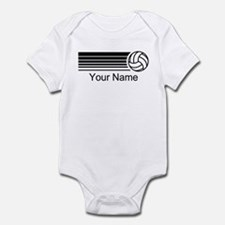 Volleyball Personalized Infant Bodysuit