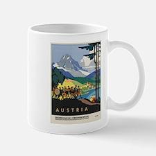 Vintage poster - Austria Mugs