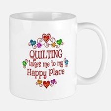 Quilting Happy Place Small Mugs