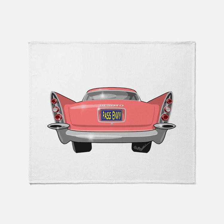 1957 DeSoto Throw Blanket