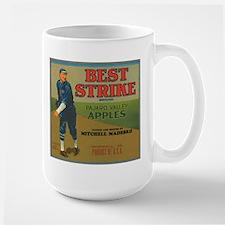 Vintage Best Strike Crate Lab Large Mug