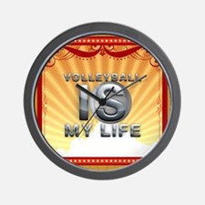 Volleyball Is My Life Wall Clock