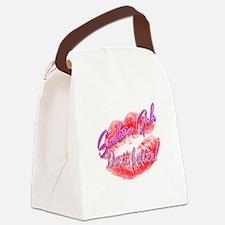 Unique Southern Canvas Lunch Bag