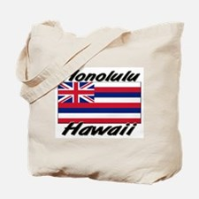 Honolulu Hawaii Tote Bag