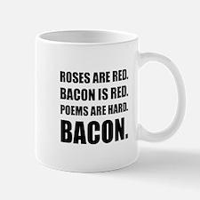 Bacon Poem 2 Mugs