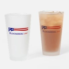 Bloomberg Drinking Glass