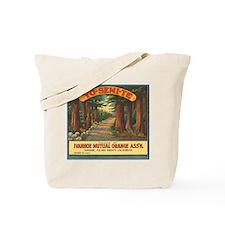 Yosemite Oranges Vintage Crat Tote Bag