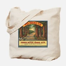 Yosemite Oranges Vintage Crat Tote Bag
