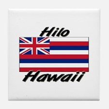 Cute Hawaiian flag Tile Coaster
