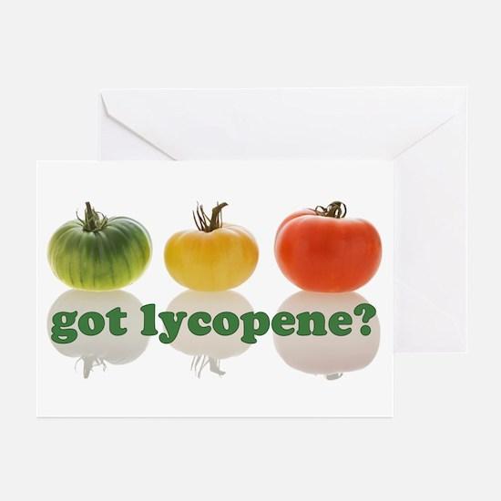 got lycopene? Greeting Cards (Pk of 10)