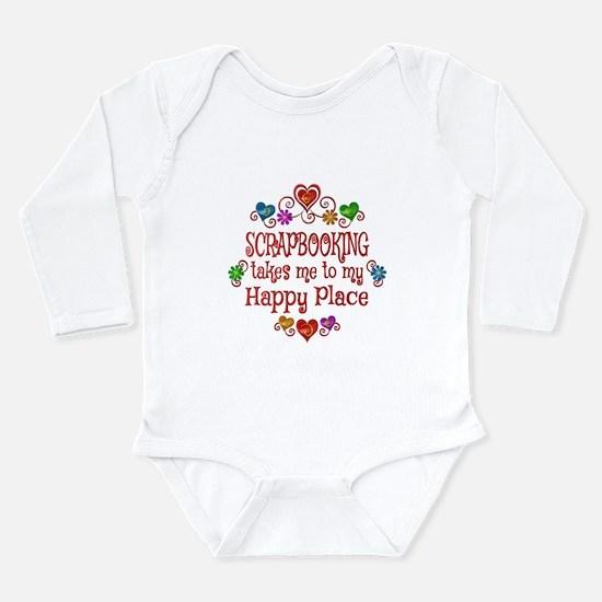 Scrapbooking Happy Pla Onesie Romper Suit