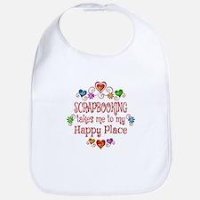 Scrapbooking Happy Place Bib