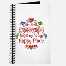 Scrapbooking Happy Place Journal
