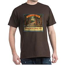 Yosemite Oranges Vintage Crat T-Shirt