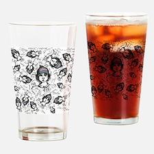 Teddy Boo and Ash II Drinking Glass
