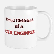Proud Girlfriend of a Civil Engineer Mugs
