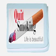 Quit Smoking baby blanket