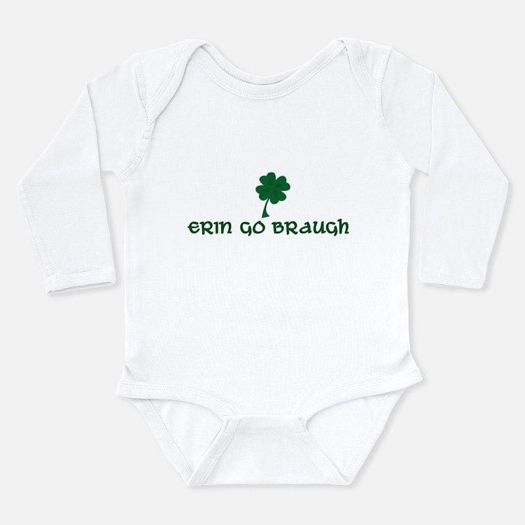 Cute March for babies Long Sleeve Infant Bodysuit