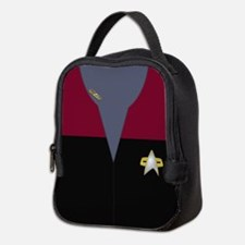 Voyager Red Maquis Ensign Neoprene Lunch Bag