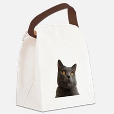 chartreux Canvas Lunch Bag