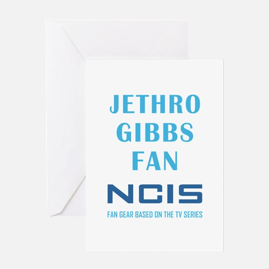 JETHRO GIBBS Greeting Cards