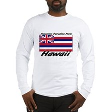 Hawaiian Paradise Park Hawaii Long Sleeve T-Shirt