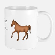 Christmas Horse Small Mugs
