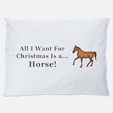Christmas Horse Dog Bed