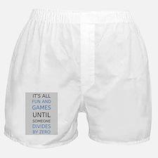 Cute Math Boxer Shorts