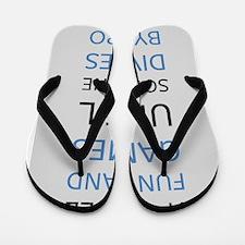 Cute Math Flip Flops