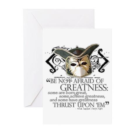 Twelfth Night 2 Greeting Cards (Pk of 10)