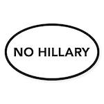 No Hillary Sticker