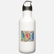 double bass party Water Bottle