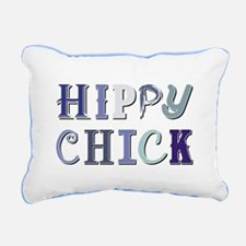 HIPPY CHICK Rectangular Canvas Pillow