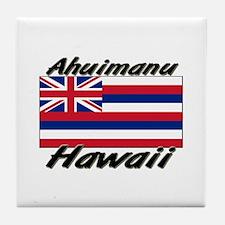 Ahuimanu Hawaii Tile Coaster