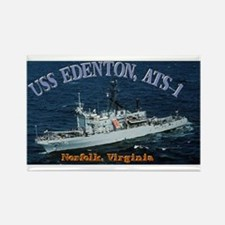 USS Edenton Rectangle Magnet