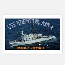 USS Edenton Postcards (Package of 8)