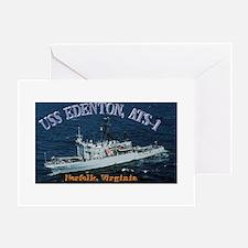 USS Edenton Greeting Card