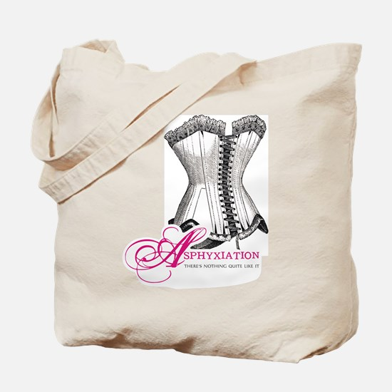 Asphyxiation Tote Bag