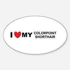 colorpoint shorthair love Decal