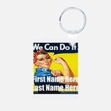 Rosie the Riveter We Can Do It Keychains