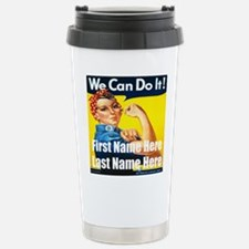 Rosie the Riveter We Can Do It Travel Mug