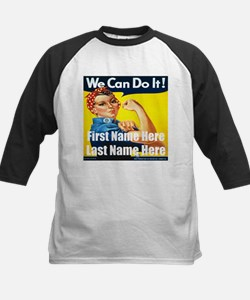 Rosie the Riveter We Can Do It Baseball Jersey