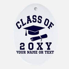 Class of 20?? Oval Ornament