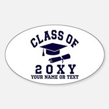 Class of 20?? Sticker (Oval)
